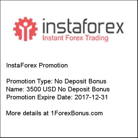 Insta forex 3500 bonus