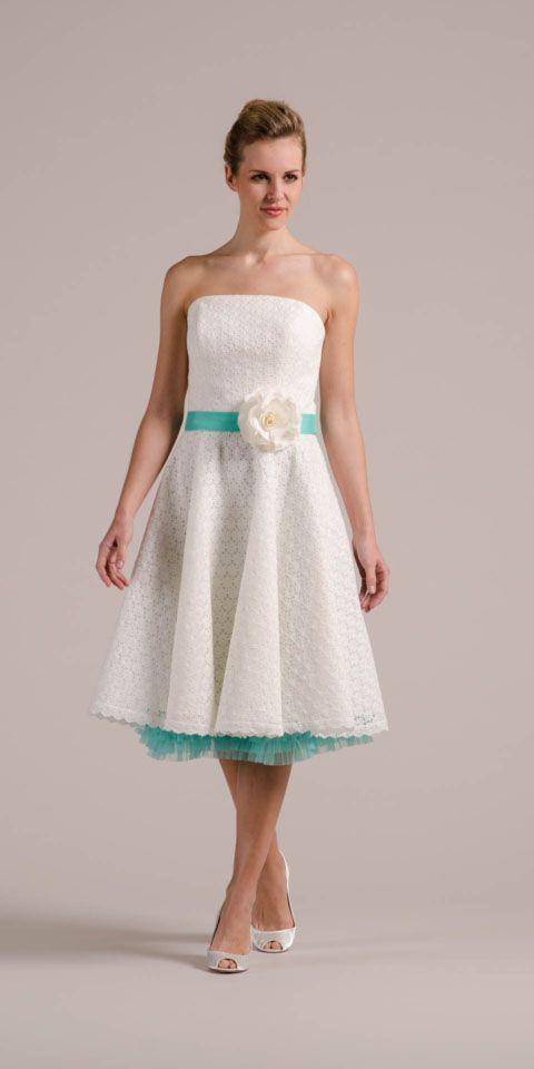 Peggy Unserem Petticoat Hochzeitskleid Steht Auch Farbe Gut Zu