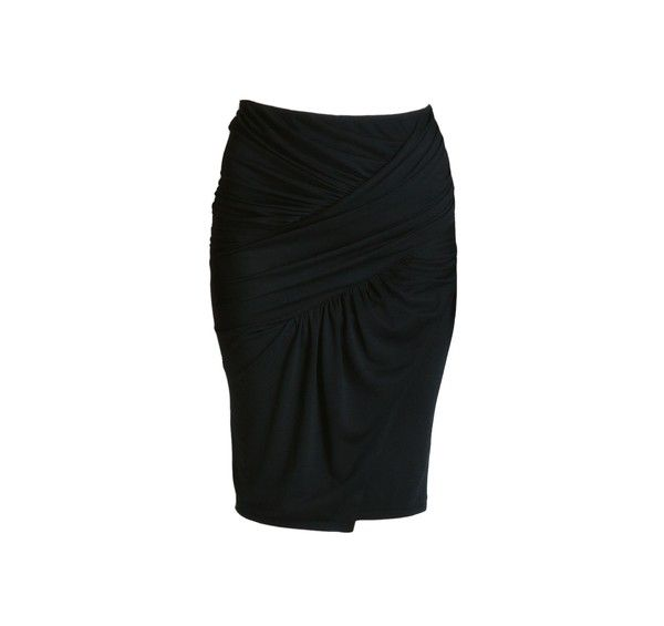 Siri skirt with ruched pleats. Handcrafted at the Anne Val
