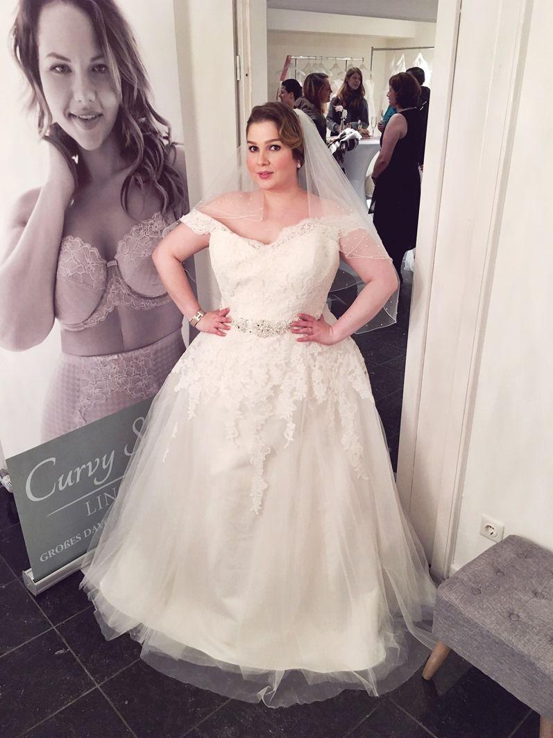 Lu zieht an: Plus Size Brautkleid für die XL/XXL Braut ...