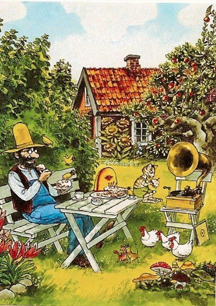 Pettersson Und Die Pfannkuchentorte Pettersson Und Findus