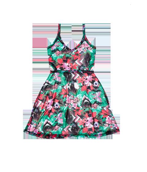Vestido C&A coleção-Poderosas do Brasil R$59,90