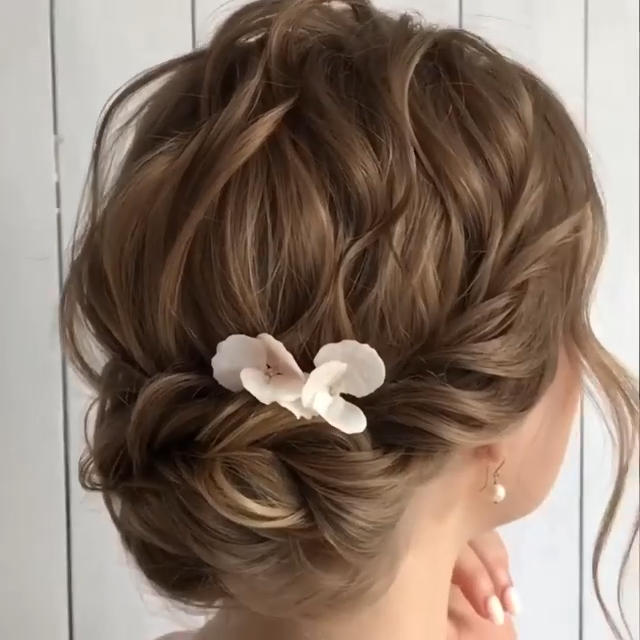 Bridal Hair: 50+ Ideas for your Wedding Day | My Sweet Engagement