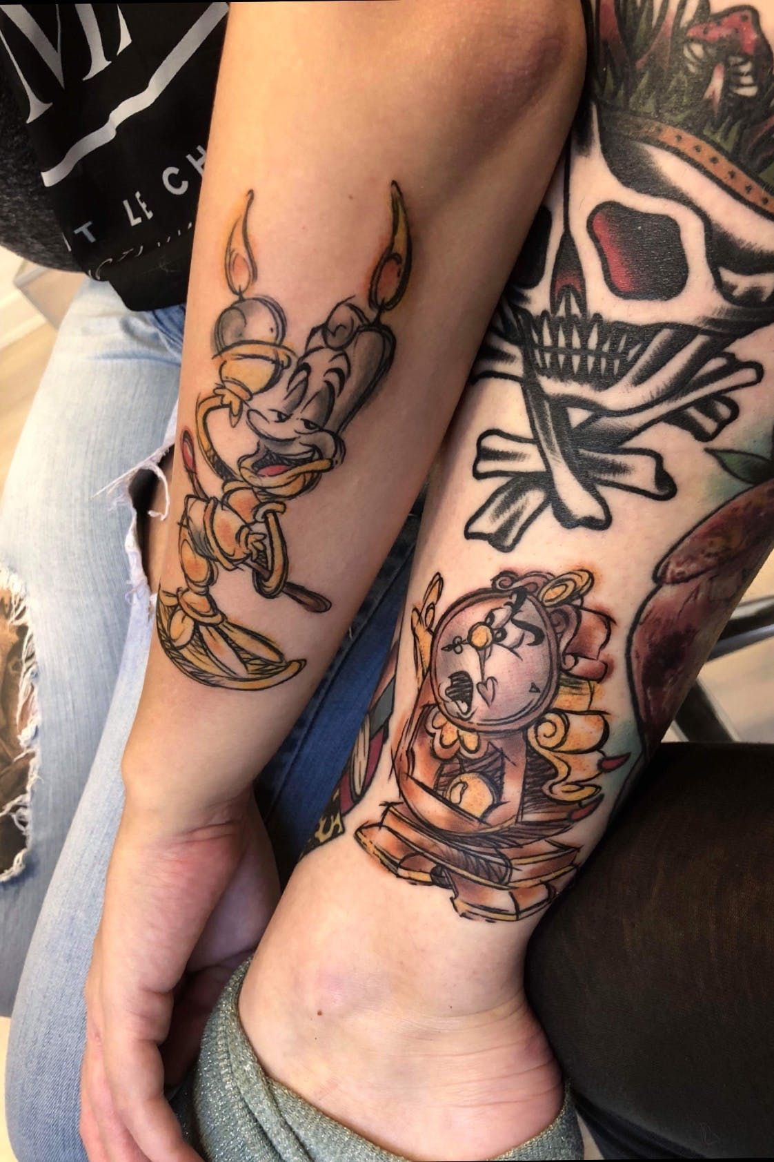 tattooartchris Mede this on my to best Friends my