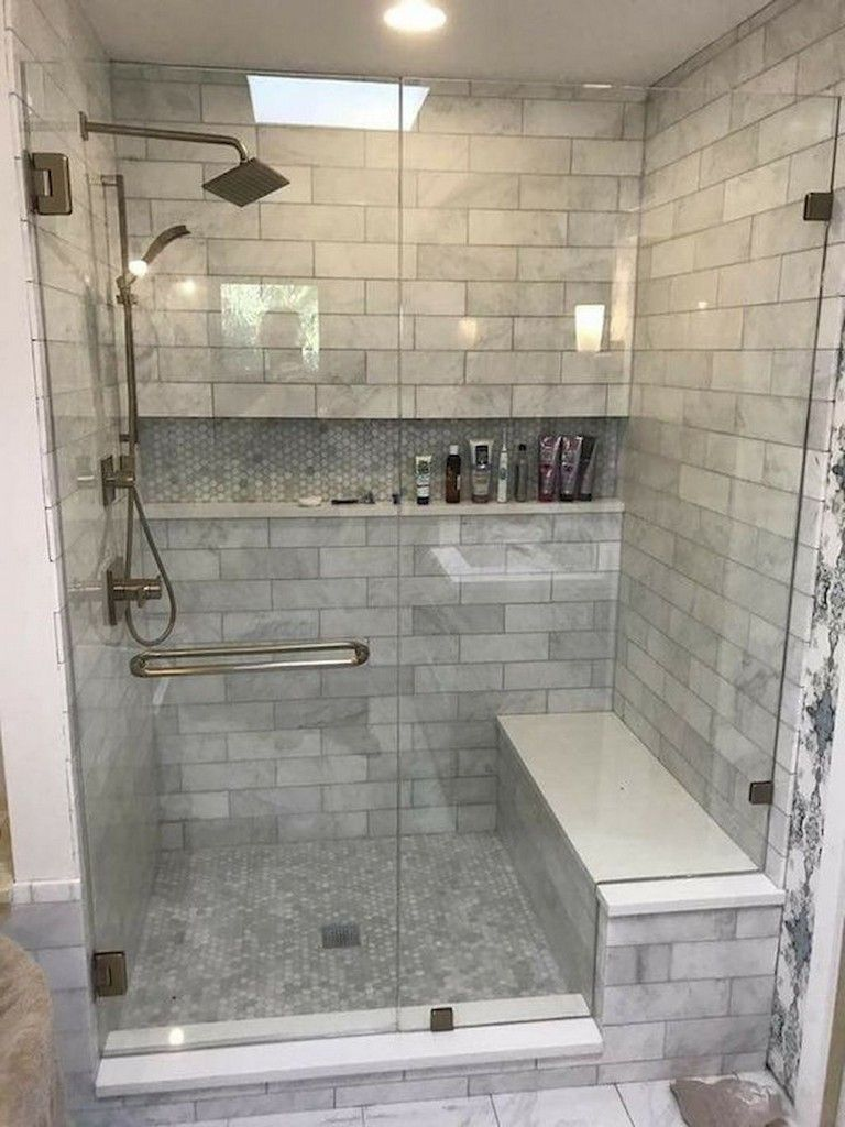 78 Lovely Bathroom Shower Remodel Ideas With Images Farmhouse