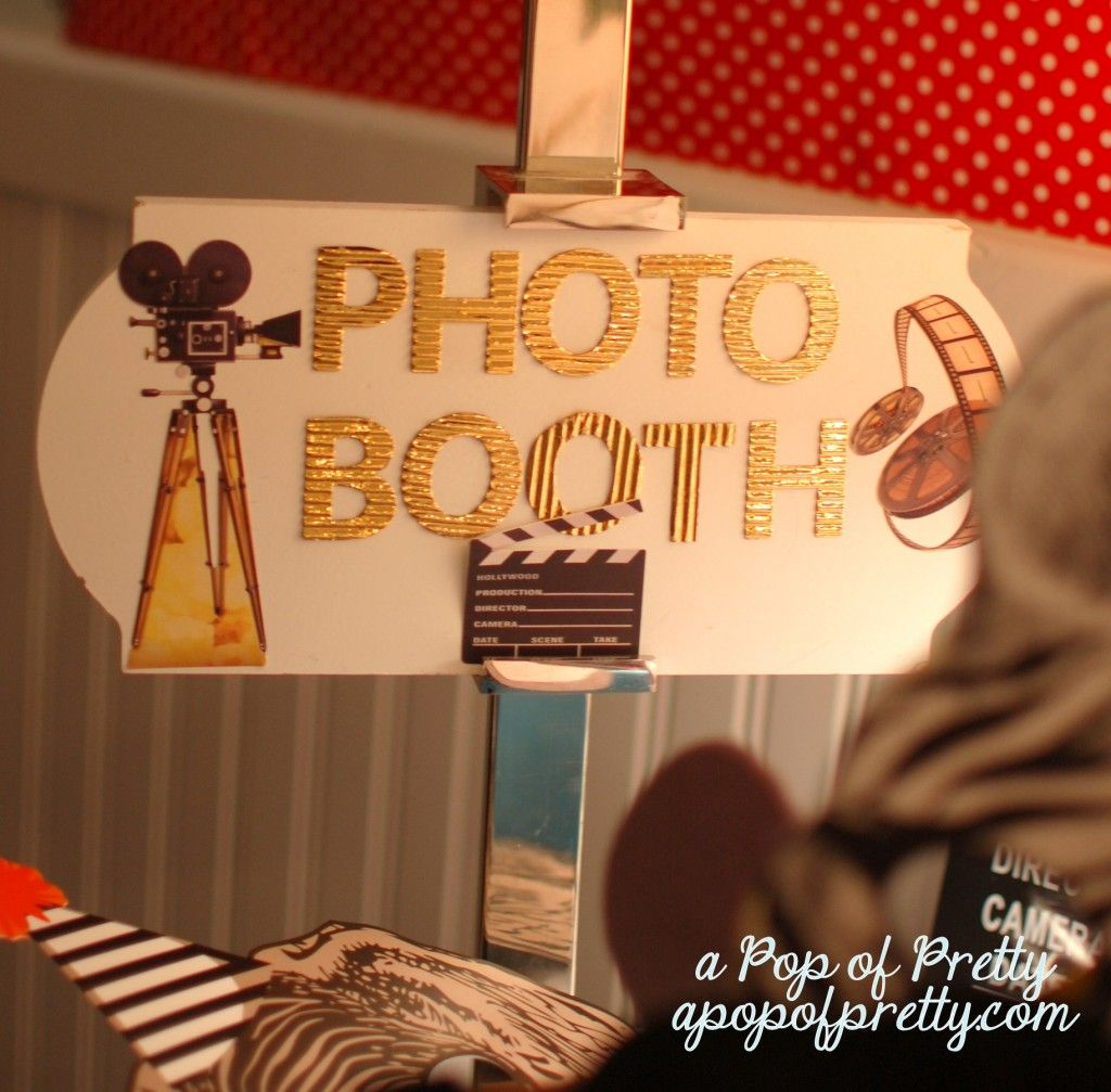 Diy photo booth tutorial how to make your own affordably diy diy photo booth sign solutioingenieria Image collections