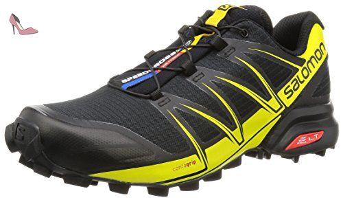 the best attitude 524d3 4fd50 Salomon Speedcross Pro, Chaussures de Trail Homme, Noir (Black Black Corona