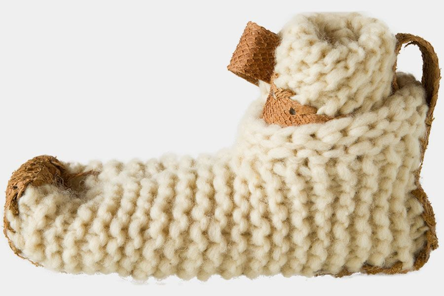 knitting  Chilote Shoe