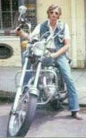 Marvelous My 3rd And Possibly My Favorite Bike Was This 1968 Honda CB450. That Is Me  In The French Quarter In New Orleans 1975