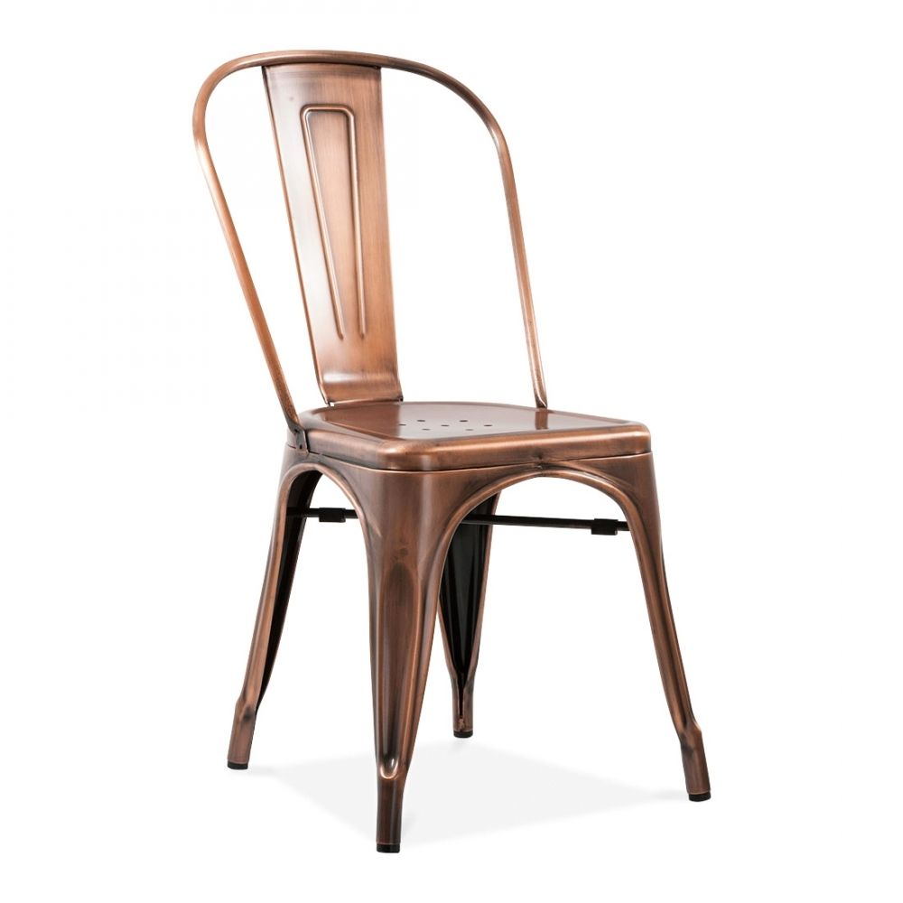 xavier pauchard french industrial dining room furniture. Xavier Pauchard Style Vintage Copper Side Chair | Cult Furniture £85 French Industrial Dining Room M