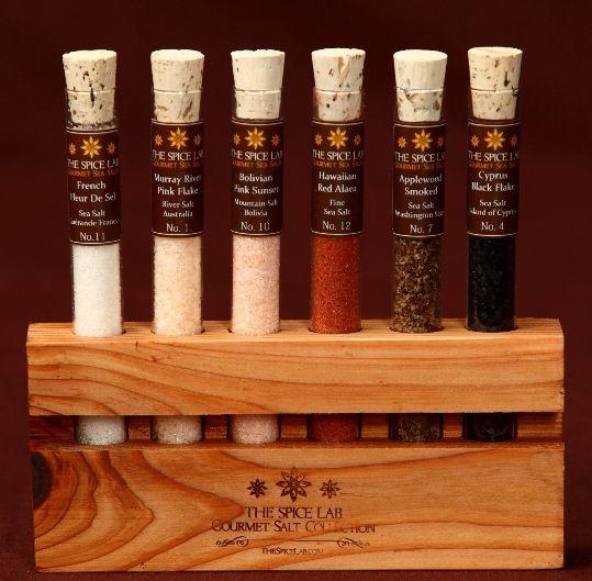 Gourmet Sea Salt Sampler Collection Holiday Gift Ideas Pinterest