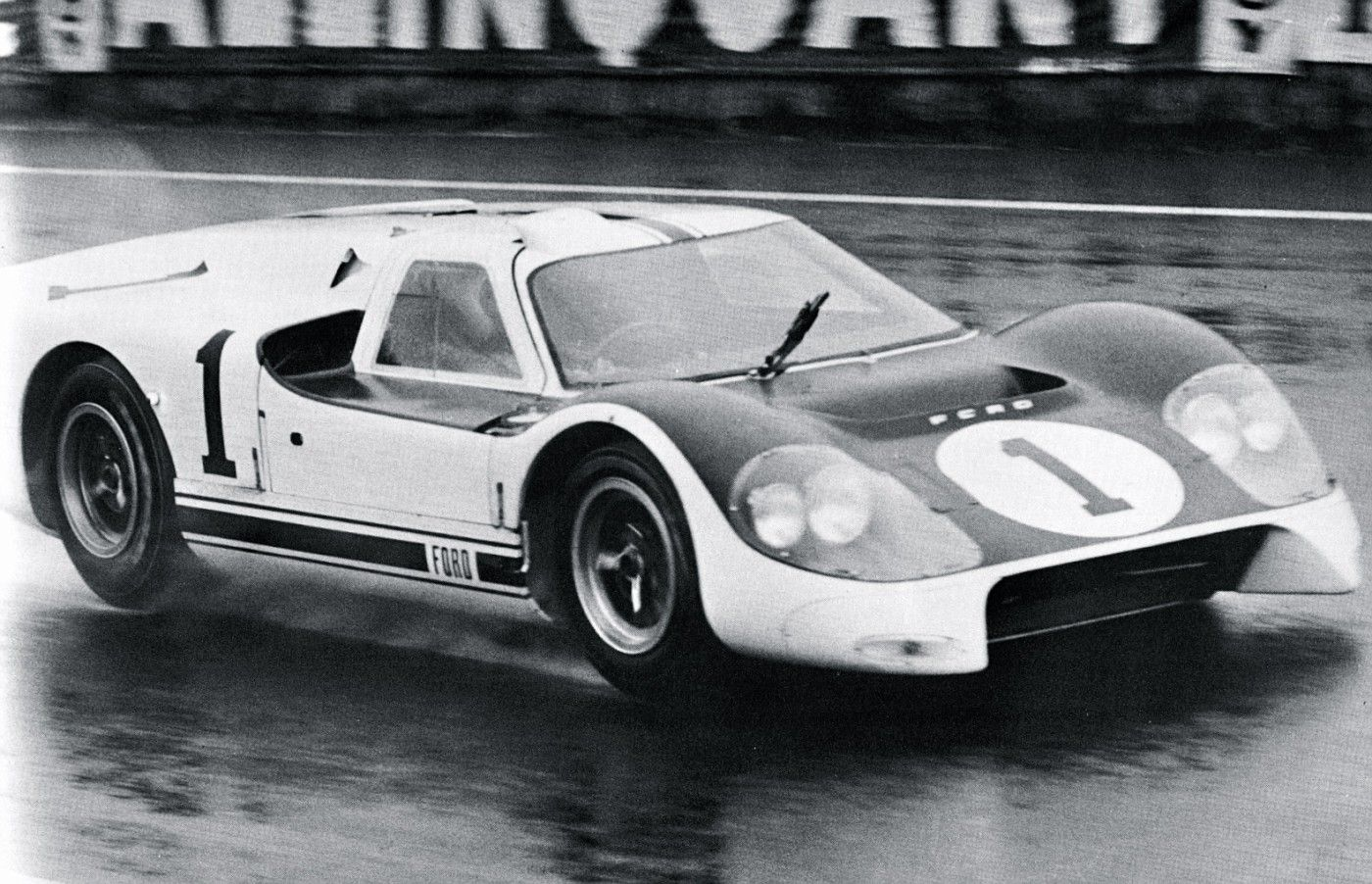 1966 Le Mans Tests Ford J Ford Gt Ford Racing Ford