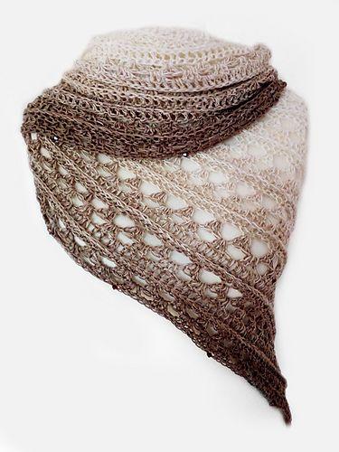 Amorous free crochet pattern by Katja Löffler | xailes | Pinterest ...