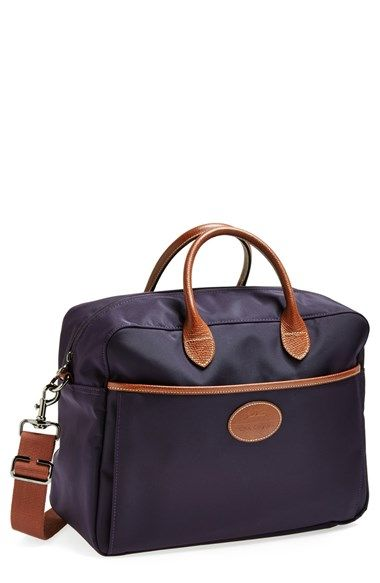 Longchamp 'Le Pliage' Travel Bag in bilberry available at #Nordstrom
