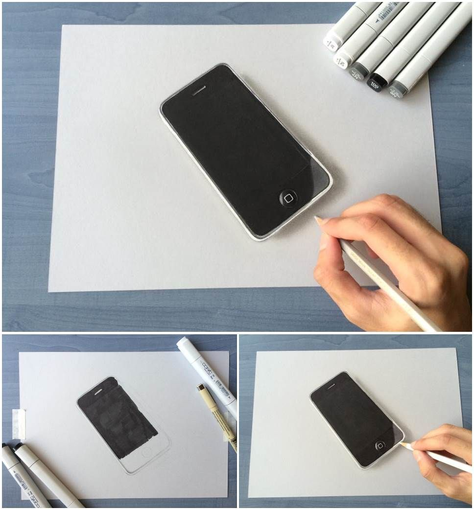 Unbelievable Hyper Realistic 3d Drawing Ideas Step By Step Step