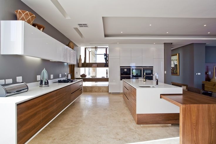 Best The Chestnuts White Timber Black And Concrete Kitchen 400 x 300