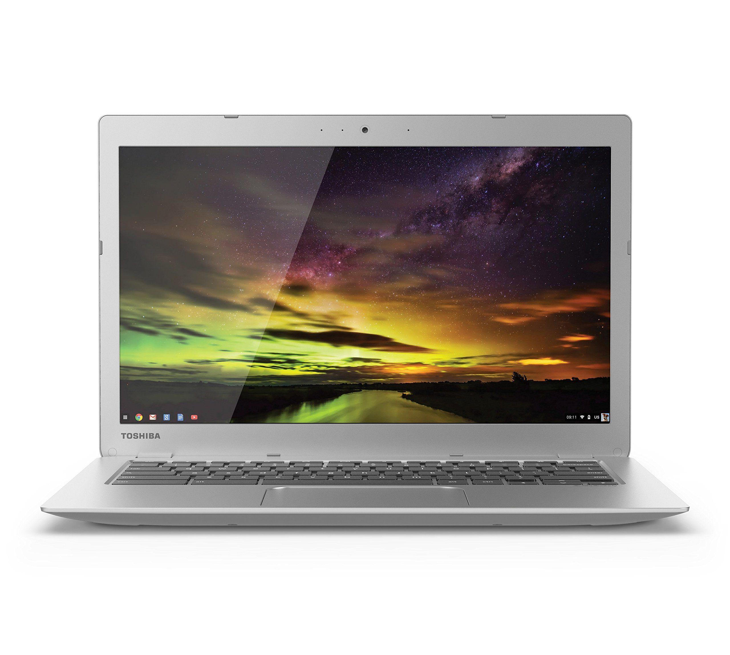 Toshiba Cb35 B3340 13 3 Inch Chromebook Intel Celeron 4gb 16gb Ssd Silver Full Hd Screen Chromebook Laptop Toshiba Laptop Deals