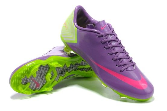 Cleats. Nike Mercurial Vapor X (10) FG Purple Pink Yellow for sale at http  f946feb081