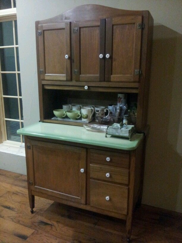 coffee cabinet coffee bar in a hoosier cabinet add frig inside 13676