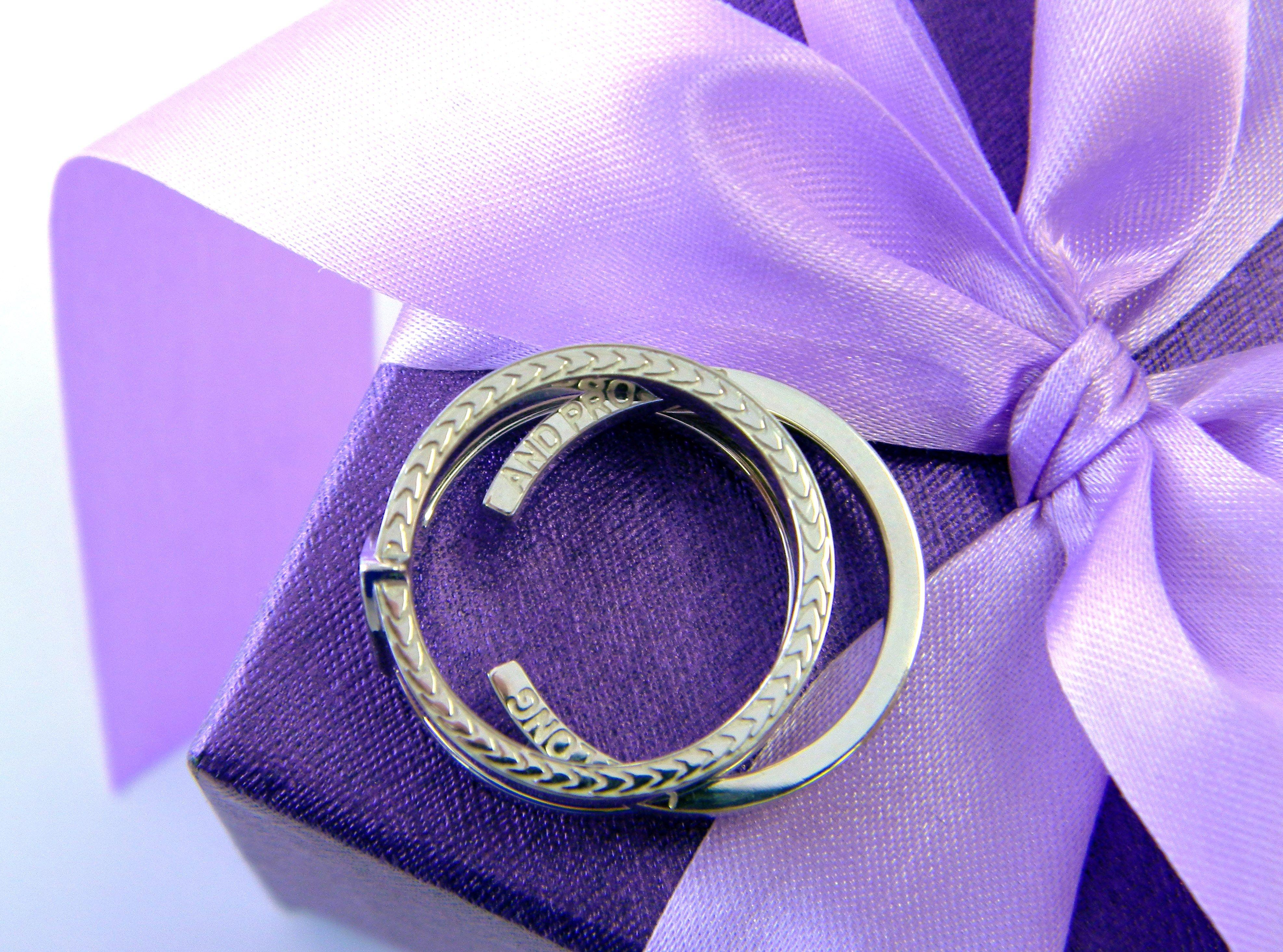 The Star Trek Ring This beautifully custom designed Mens
