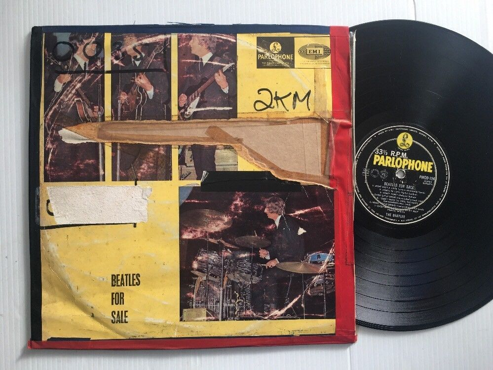 Details about BEATLES For Sale Original Vinyl Lp Album
