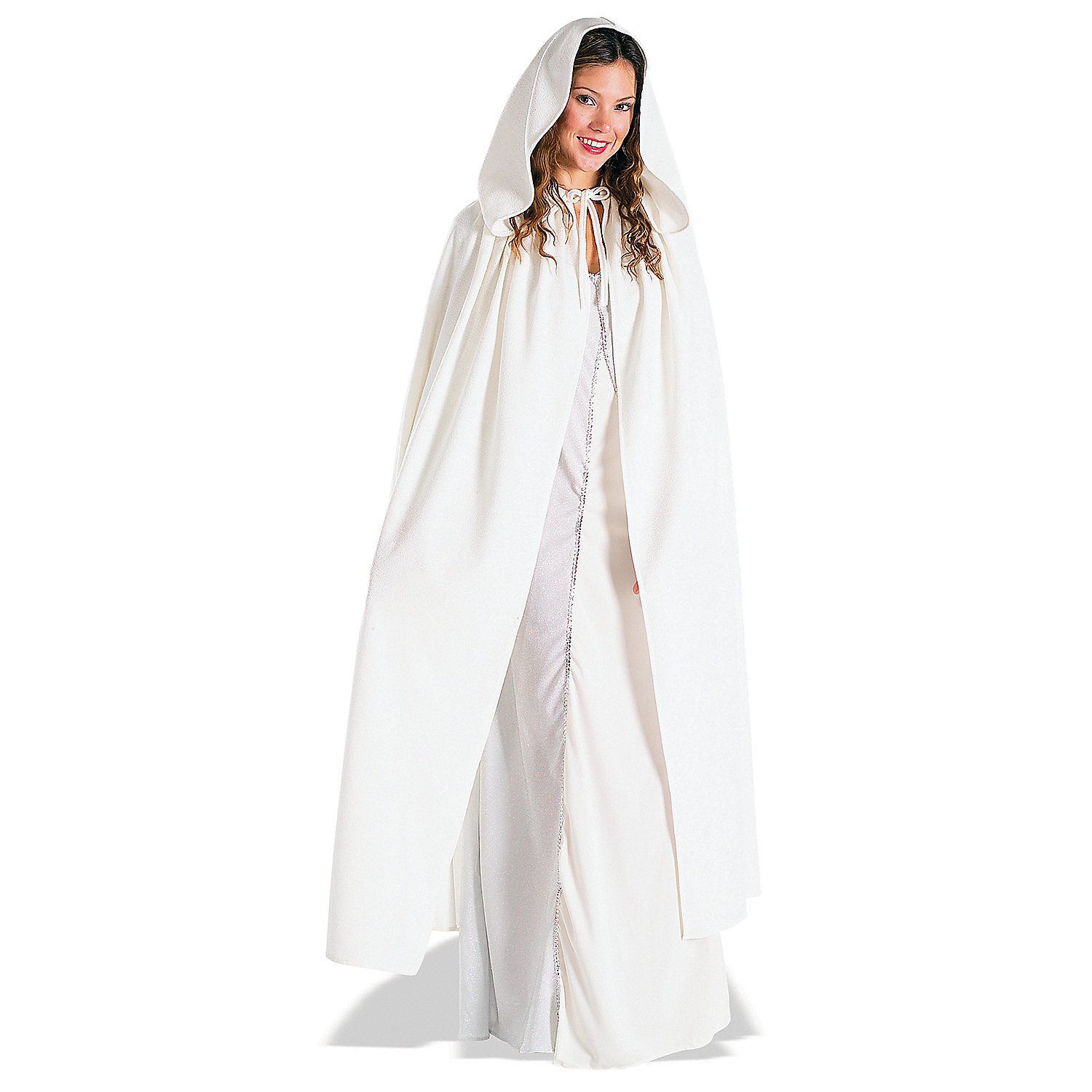 Cloak with Large Hood Halloween Cloak Princess Ghost Renaissance Costume Cape