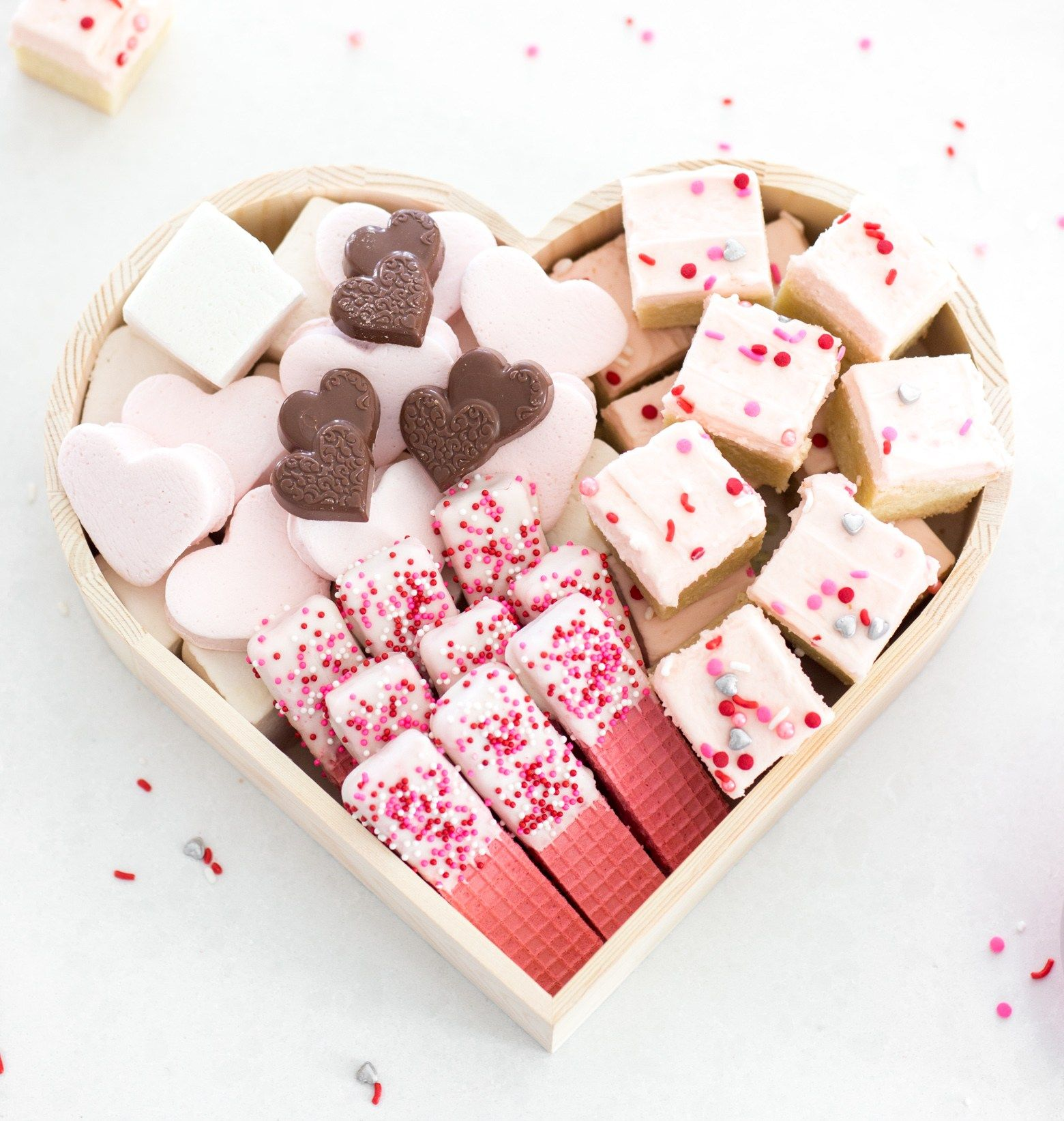 How To Make A Valentine's Day Treat Box is part of How To Make A Valentines Day Treat Box Jamie Kamber - Over the holiday season I saw cookie boxes all over my Instagram feed  I love this gift idea because I'm horrible at…