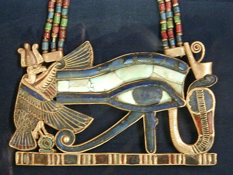 Wedjat udjat eye of horus pendant pectoral ancient egypt wedjat udjat eye of horus pendant pectoral ancient egypt wikipedia mozeypictures Image collections