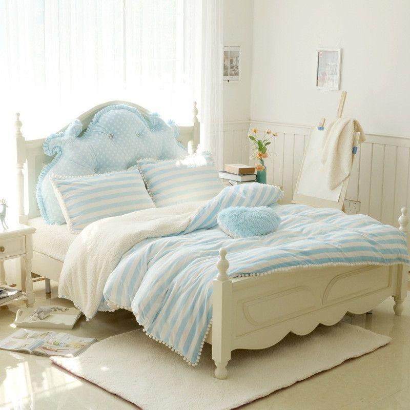 Warm Crystal velvet and berber Fleece bedding Cartoon Kawaii bedding sets  bed sheets duvet 1268f2fd2