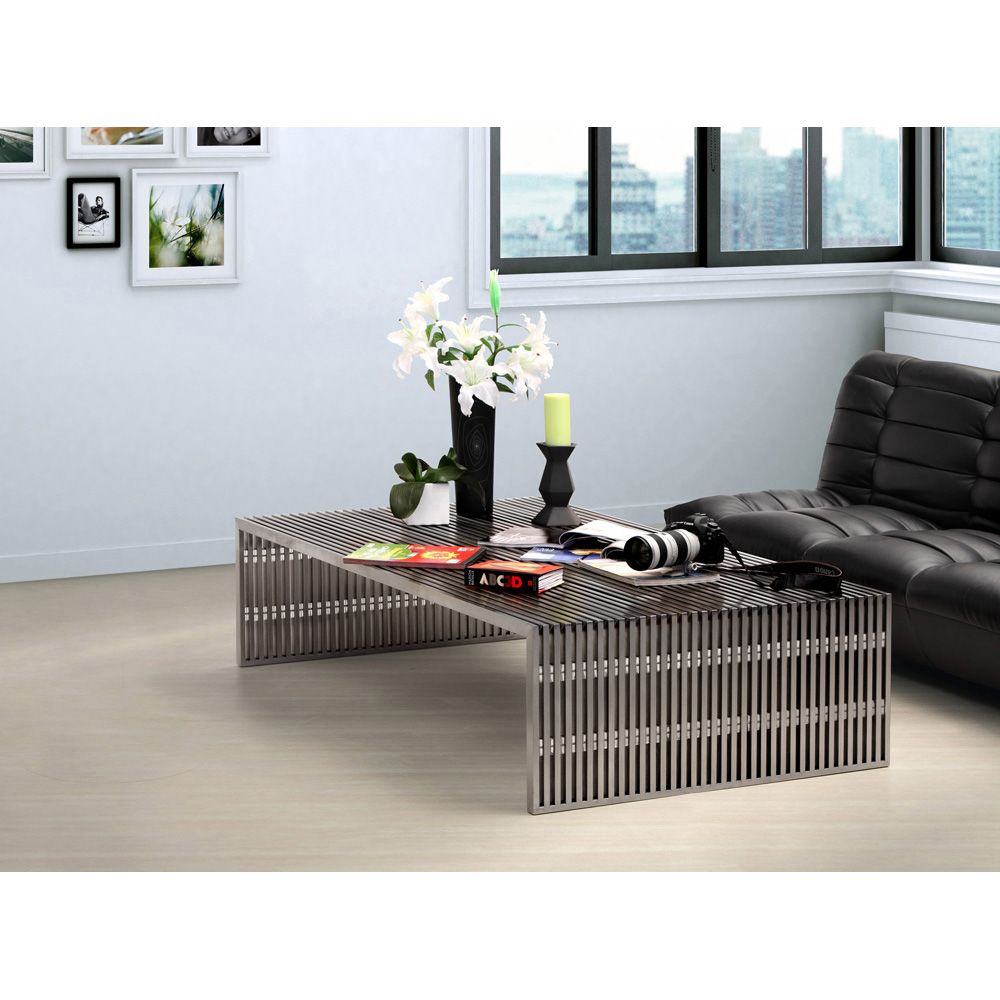 Novel Long Coffee Table is part of Silver Home Accessories Coffee Tables -
