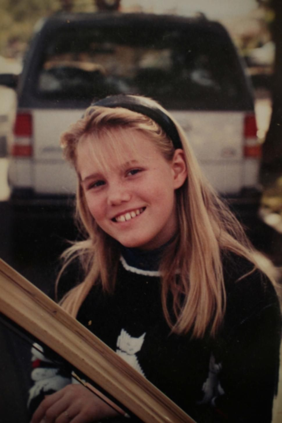 Jaycee Dugard is shown in a family photo, after her disappearance in 1991 from a