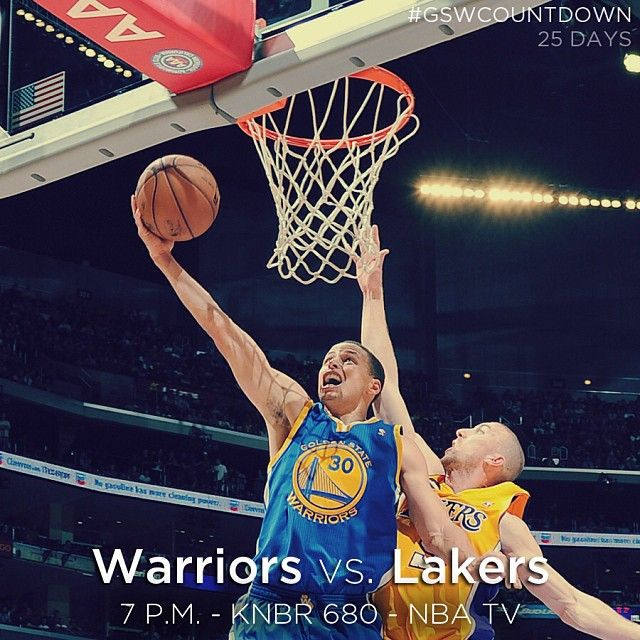 Warriors Basketball Is Finally Back Preseason Tips Off Tonight With The Dubs Taking On The Lakers At 7pm On Nba Tv Letsgowarrior Nba Tv Warrior Warriors Vs