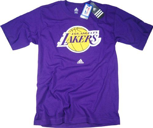 check out 3a9d2 d63d7 Los Angeles Lakers adidas Purple Primary Logo T-Shirt A good ...