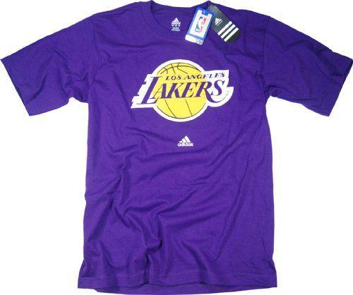 4ab7e3ed5 Los Angeles Lakers adidas Purple Primary Logo T-Shirt A good ...