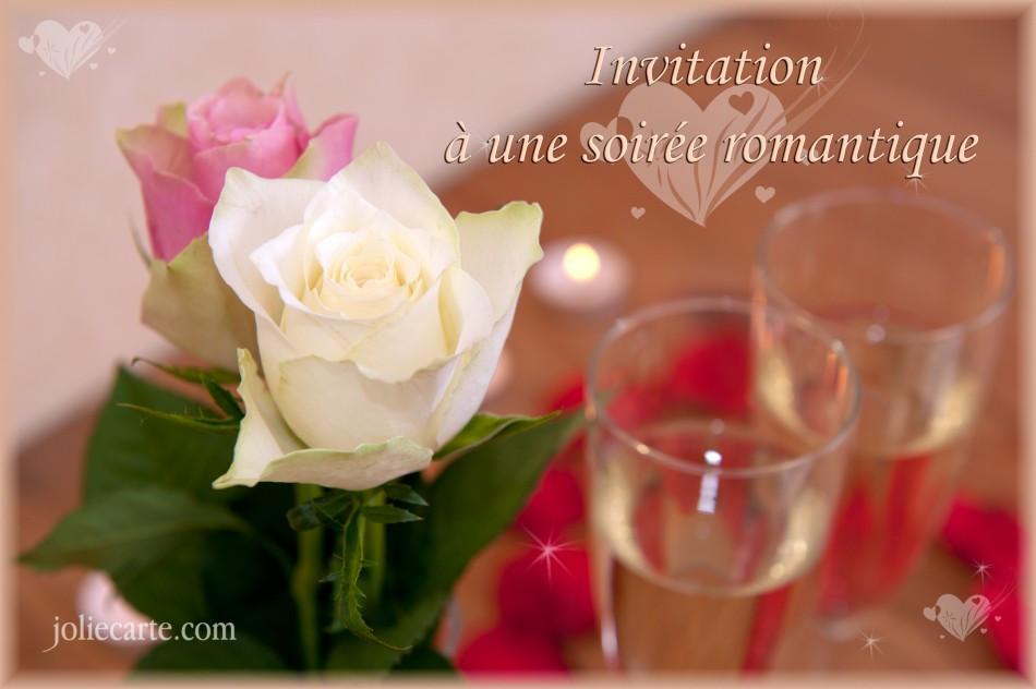 Carte D Anniversaire Romantique Gratuite Unique Cartes Virtuelles Invitation Soire Romantique Joliecarte
