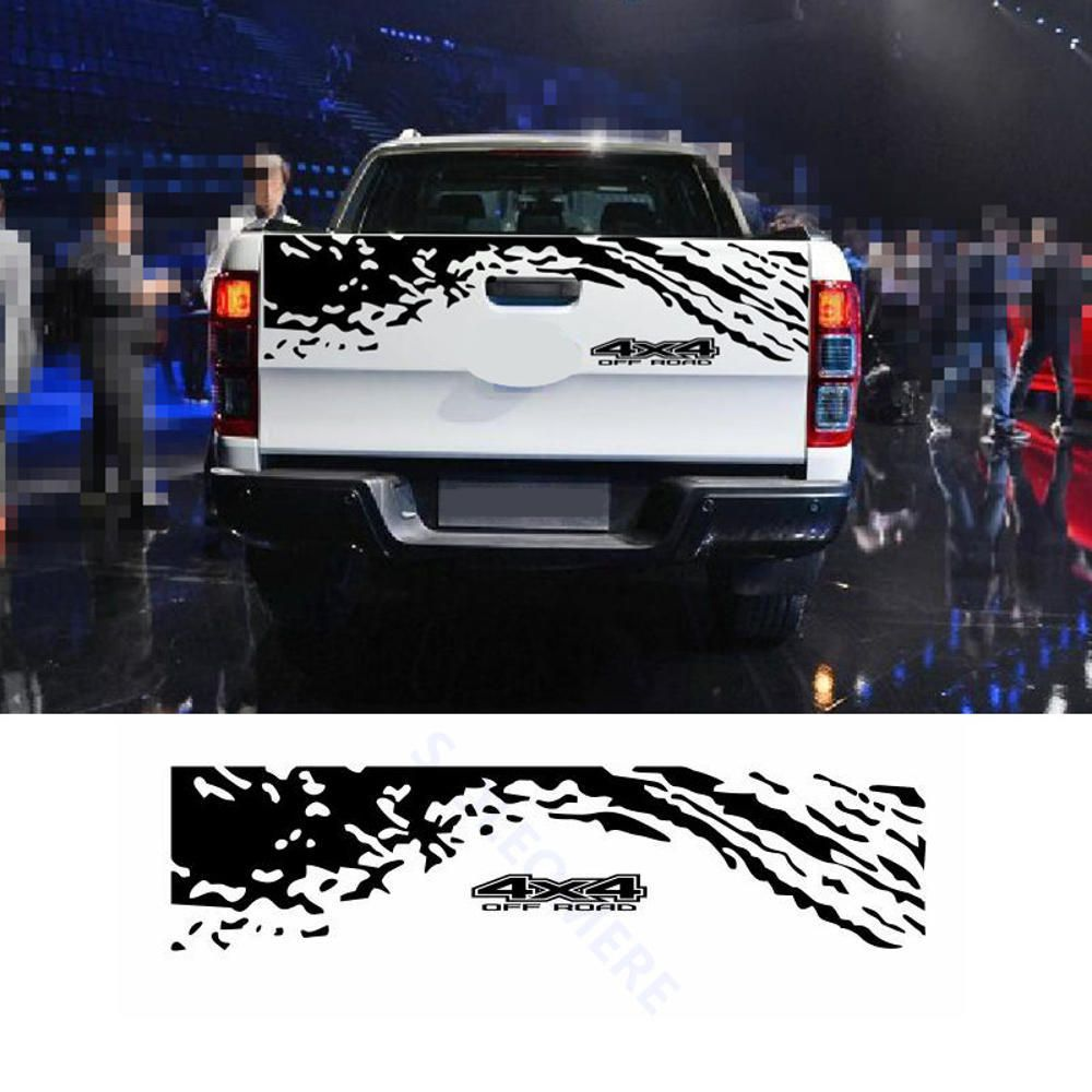 4x4 155 34cm Car Trunk Decoration Stickers Bk Decals Universal For Suv Pickup In 2021 Car Decals Vinyl Ford Ranger Car [ 1000 x 1000 Pixel ]