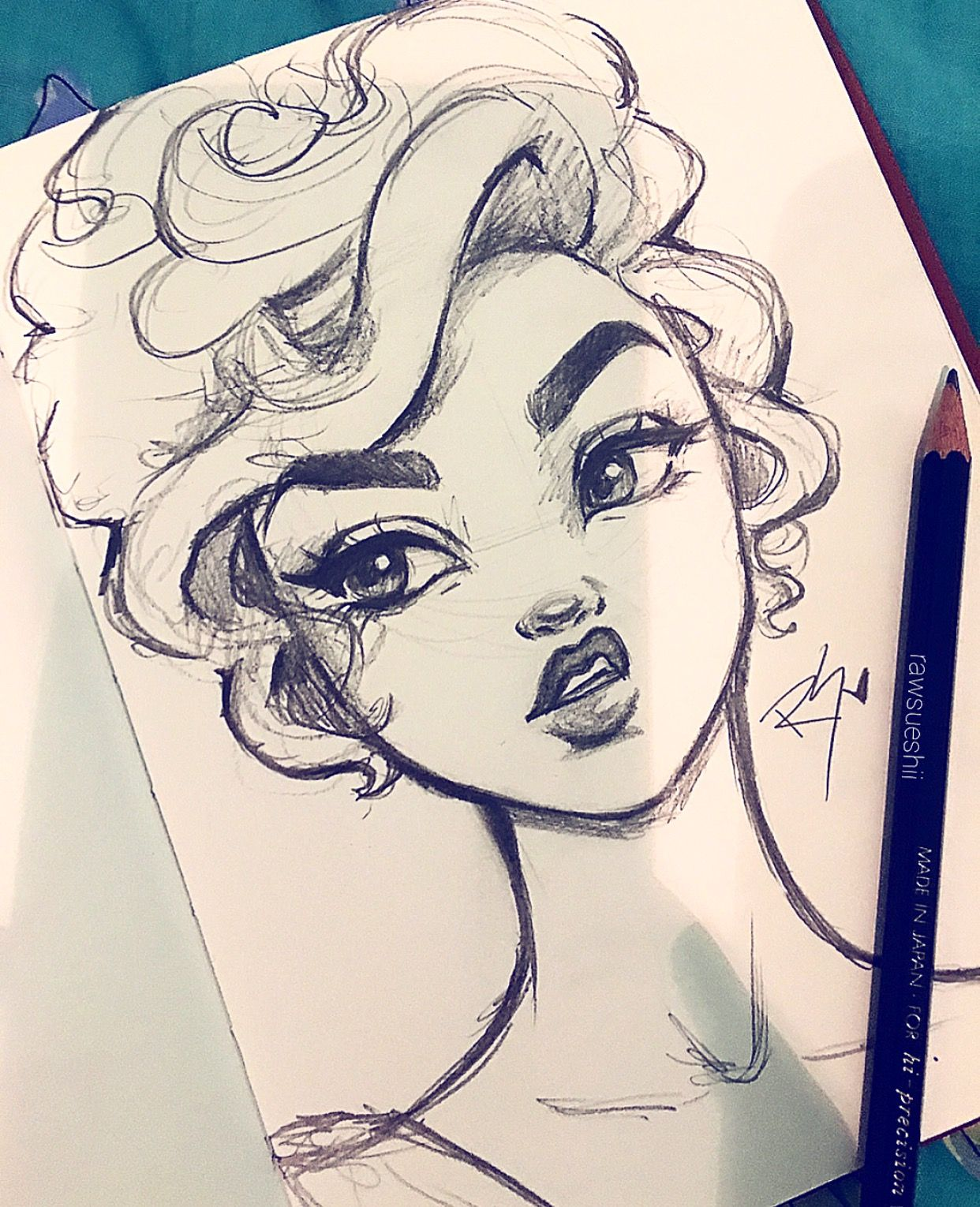 Hair Flow » Art » Drawing » Inspiration » Illustration