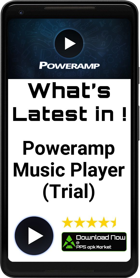 Poweramp Music Player (Trial) App Free Offline Download