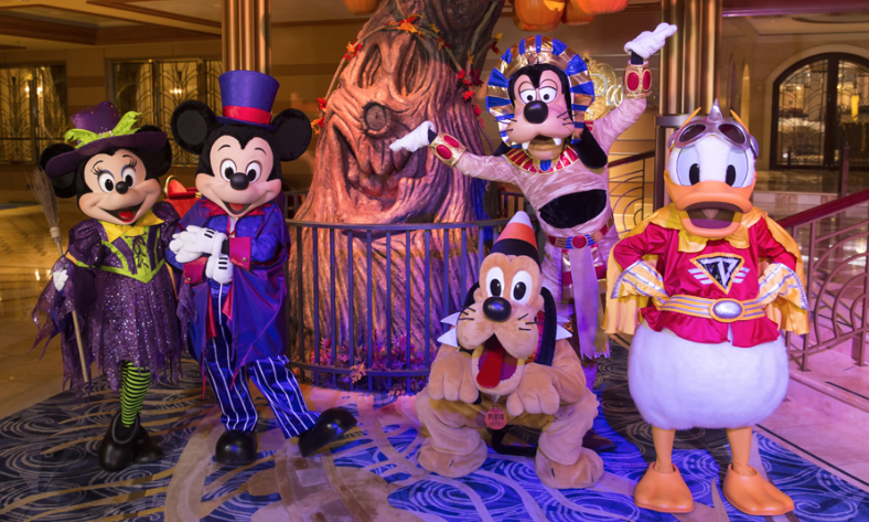 Celebrate Halloween at Sea Aboard the Disney Cruise Line!