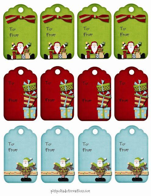Tiernas etiquetas para Navidad, para Imprimir Gratis. | Ideas y ...