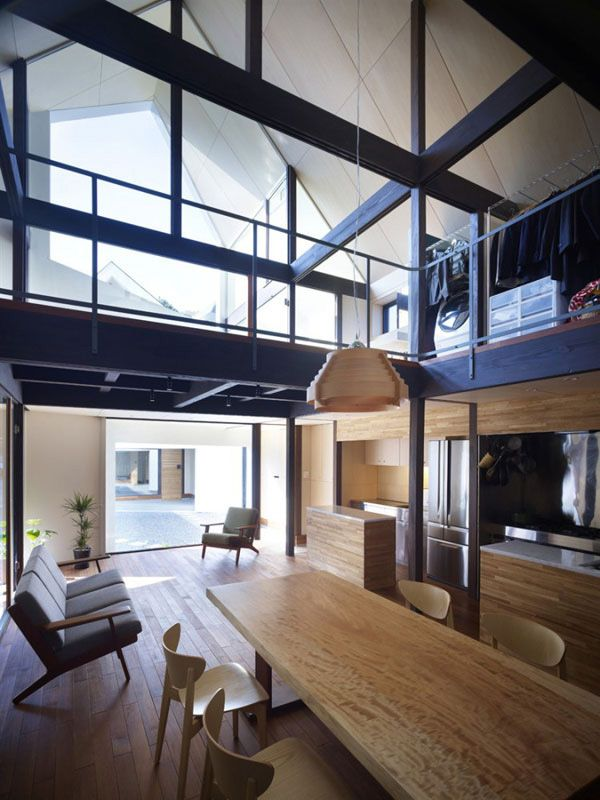 Japanese Zen Home Design With Two In One Spaces 3 Architecture