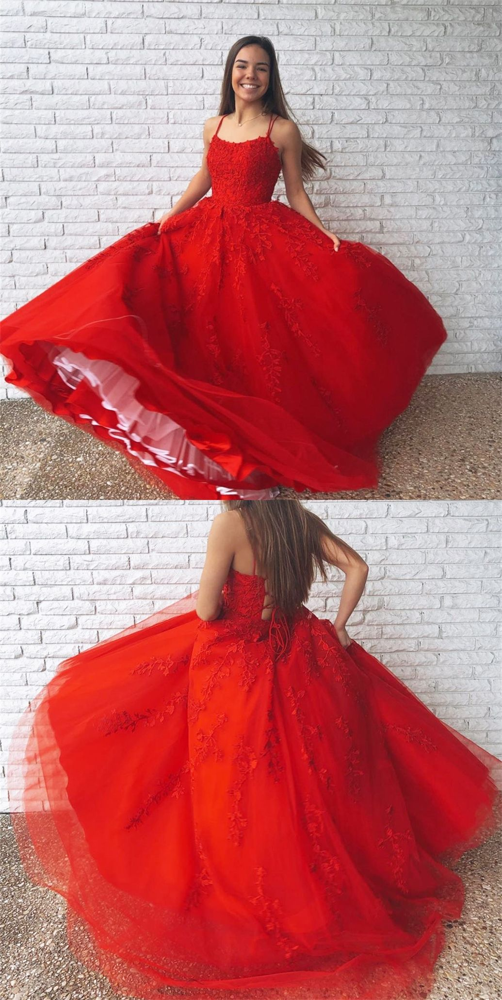 Free Shipping Red Ball Gown Red Ball Gowns Evening Dresses Long Prom Dresses Long [ 2060 x 1035 Pixel ]