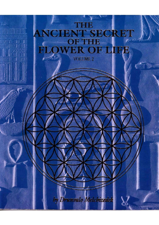 Drunvalo melchizedek secret of the flower of life volume
