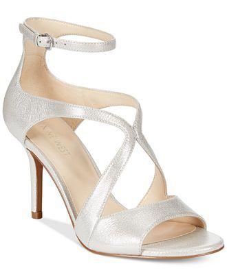 883c440e05 Nine West Gerbera Mid-Heel Dress Sandals - Shoes - Macy's ...