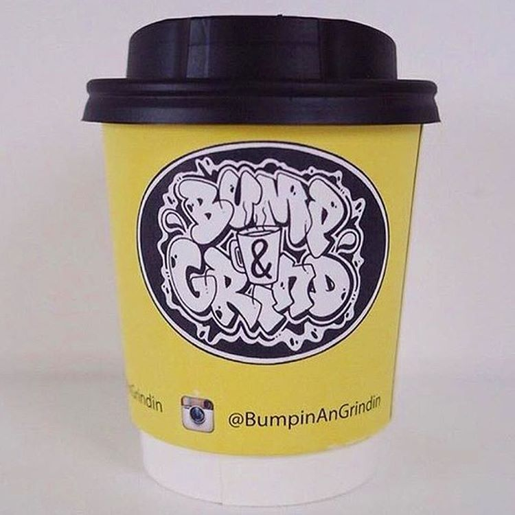 Bump & Grind London. @bumpinangrindin #coffeecup