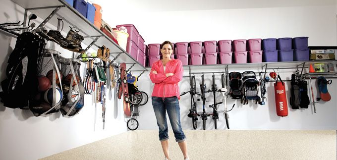 Beau Major D. Clutter | The Garage Specialists | Garage Storage Solutions |  Storage Shelving |