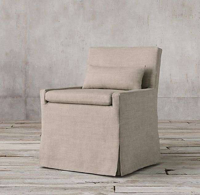 Have 2 Of These In Cream Linen Slipcover