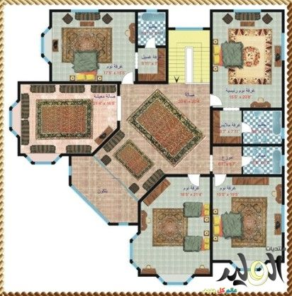 Pin By Fawaz On House Plan Dream House Rooms Villa Design House Plans