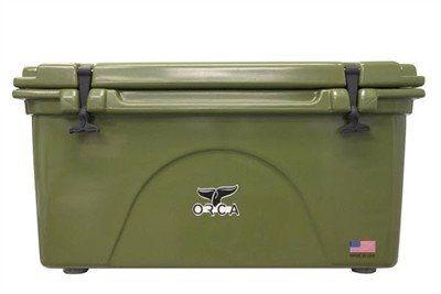 Orca 75 Quart Green Orca Cooler Trading Company