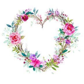Photo of Rose heart wreath